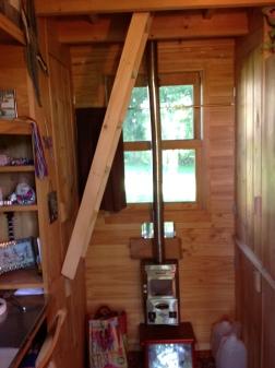 Ladder up position